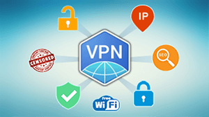 VPN Client for secure on the Internet