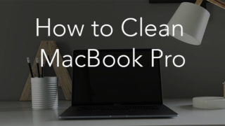 macbook pro - clean up
