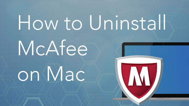 how to remove mcafee