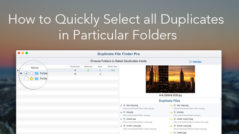 mac folders - duplicate files