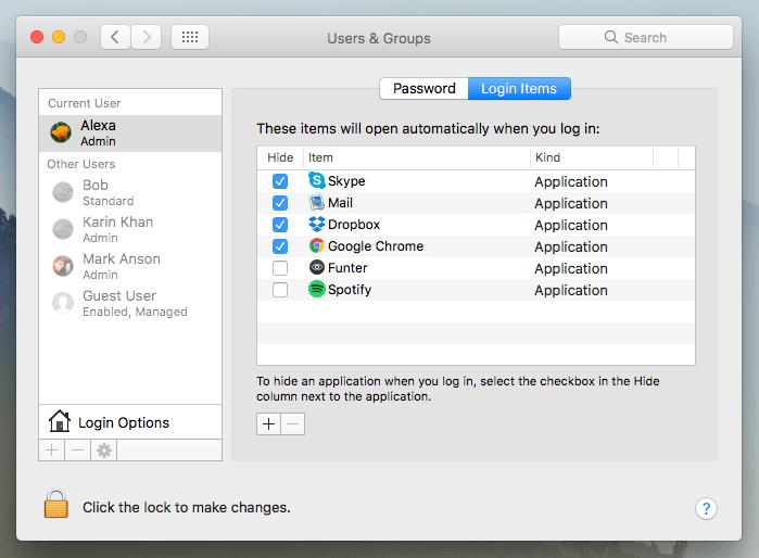 speed up mac