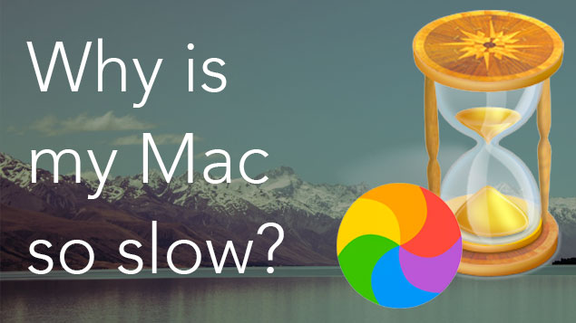 why is my mac running slow