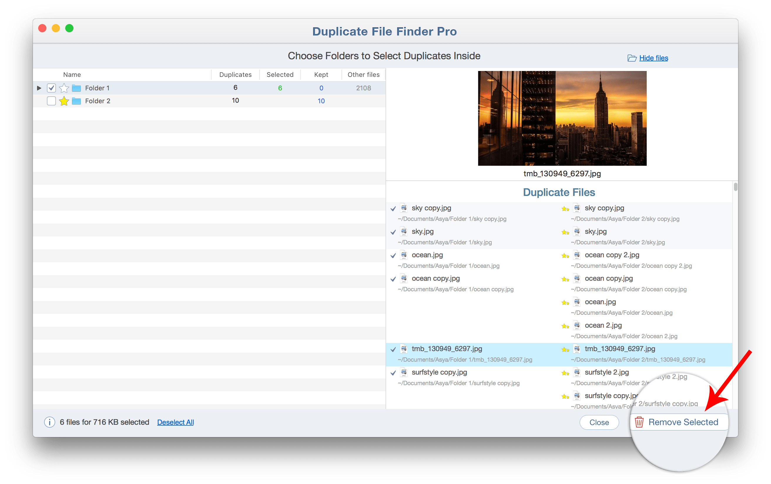 double file finder