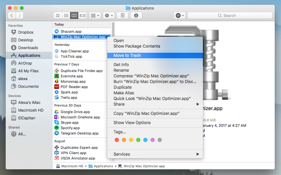 Uninstall WinZip on Mac - Full Removal Guide