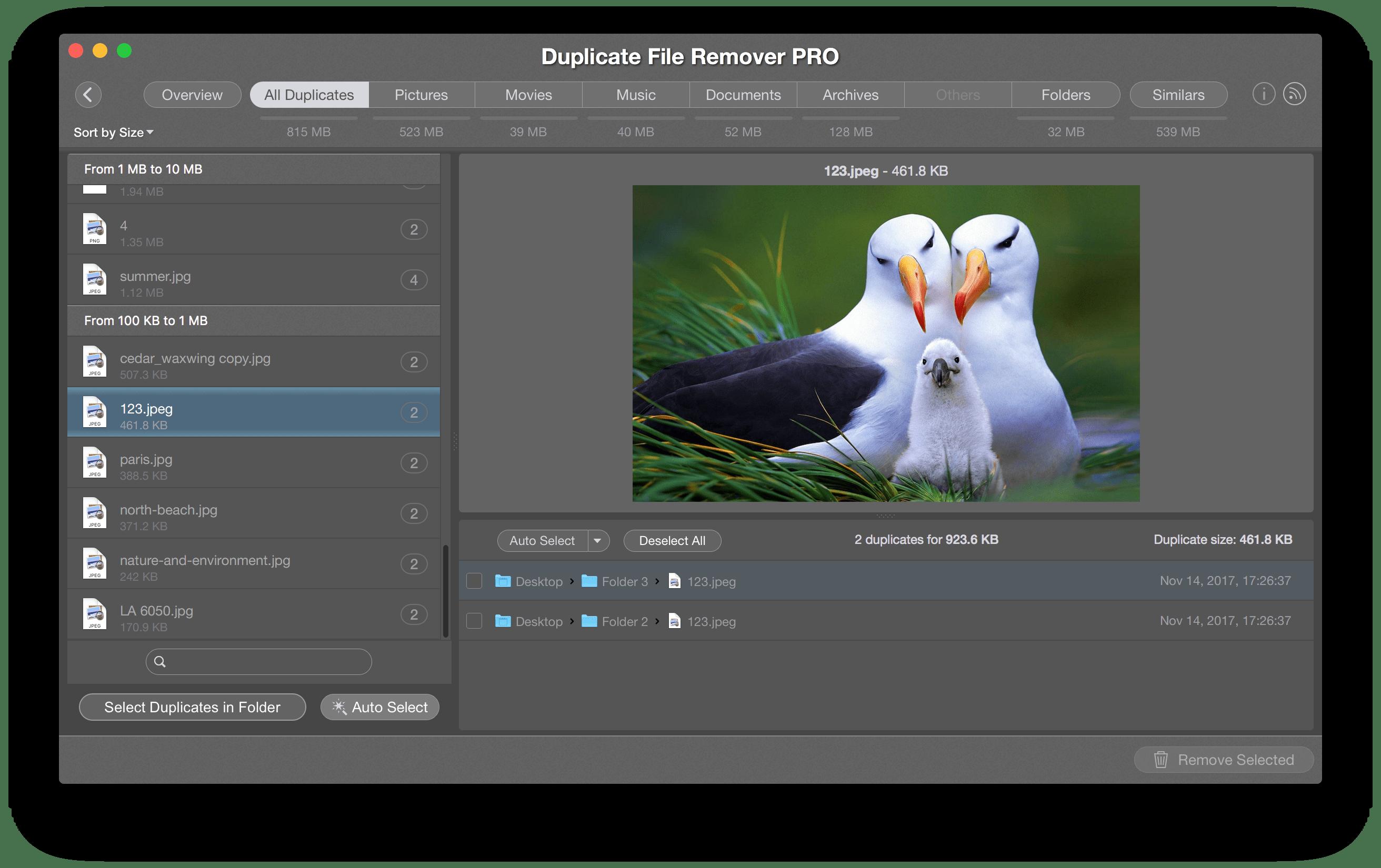 mac duplicate remover software