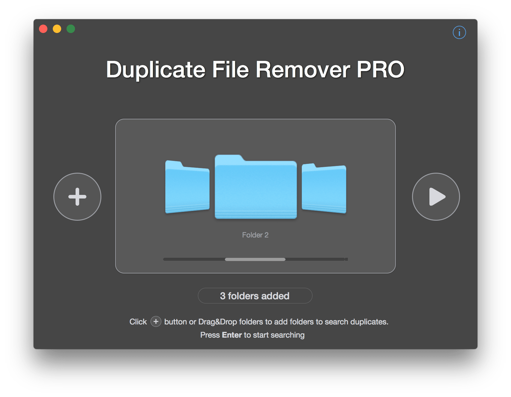duplicates remover mac - step 1