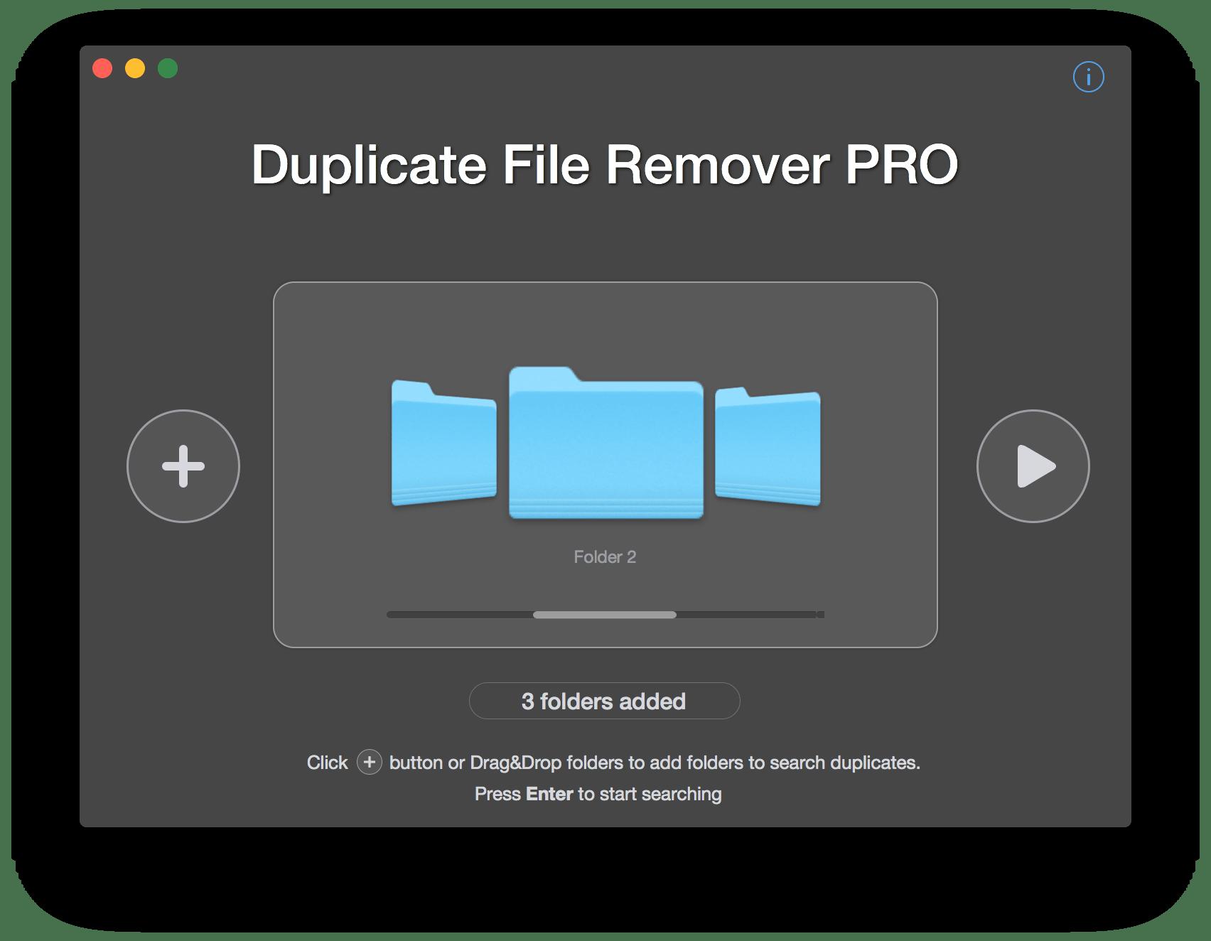 duplicates remover mac - step 1