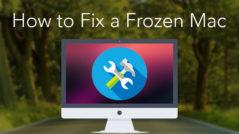mac freezes