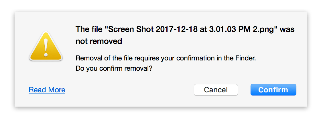 confirm remove duplicates permanently