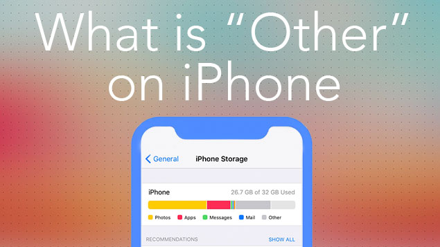 "What is ""Other"" on your iPhone"