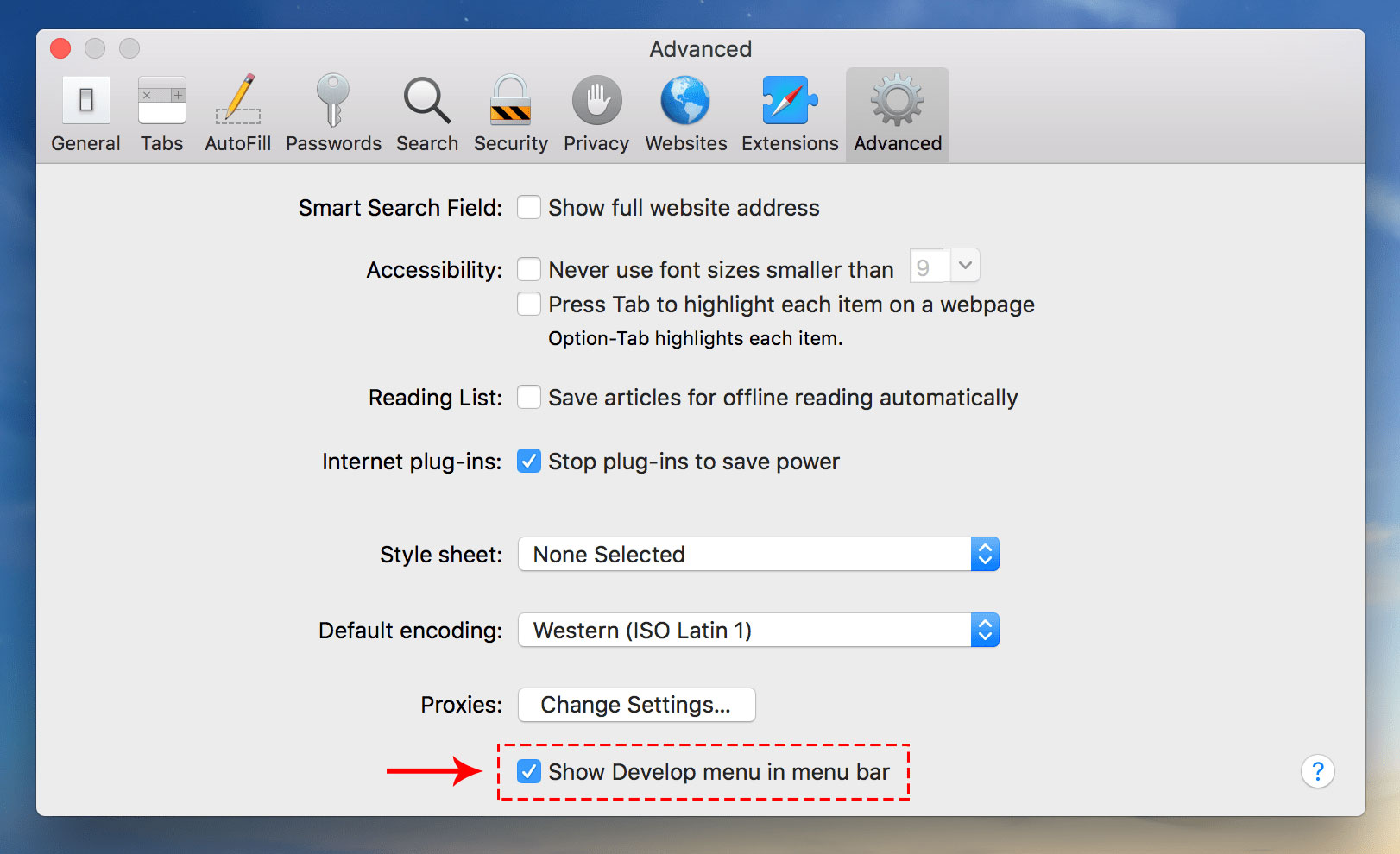 how to clear cache on safari