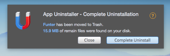 program uninstall mac