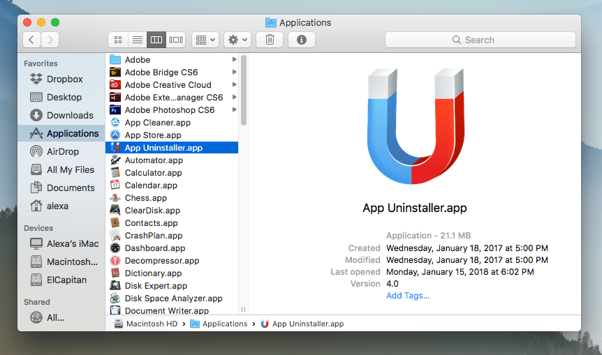 uninstaller app for mac