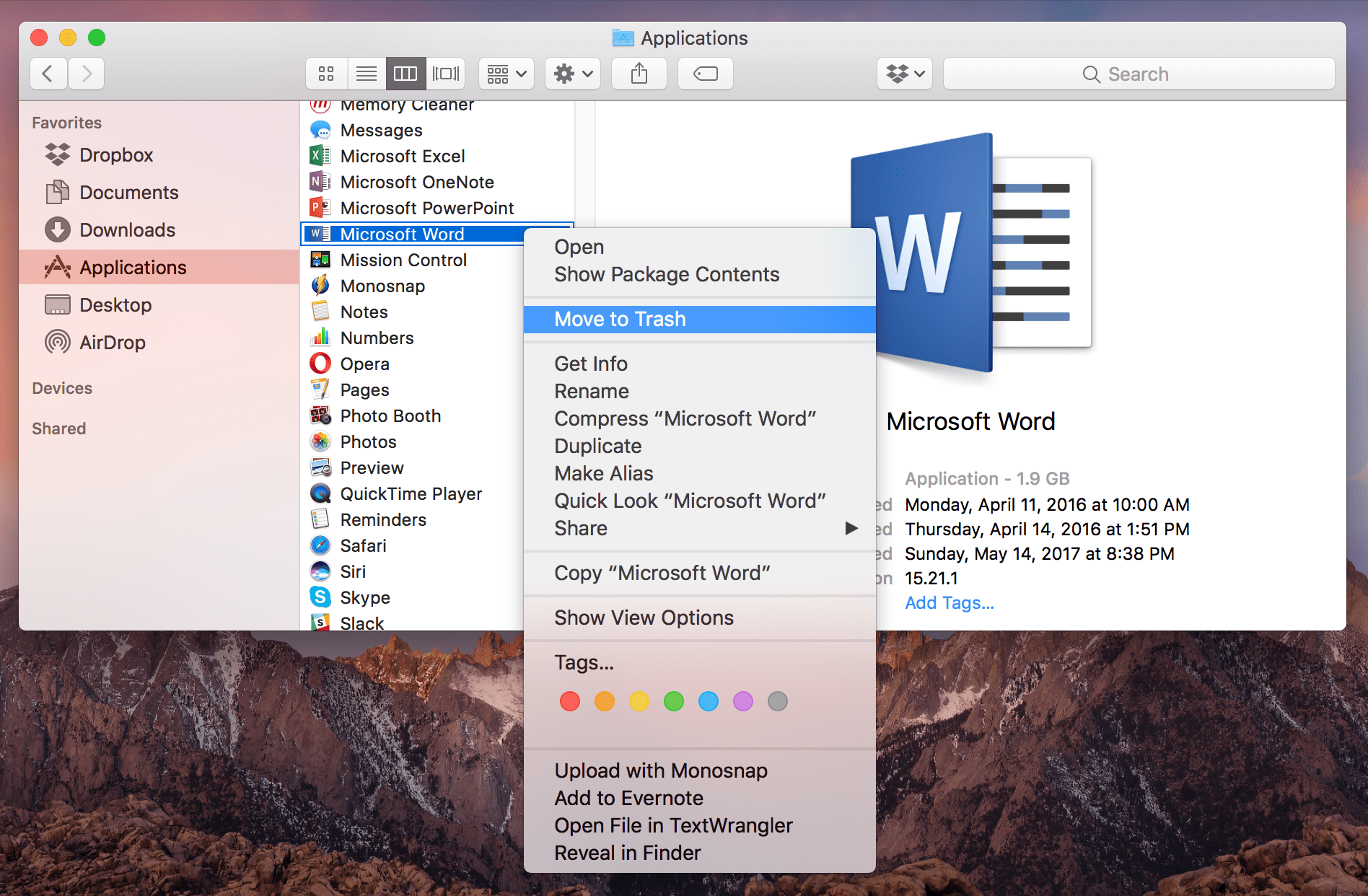 how to delete page in word on mac