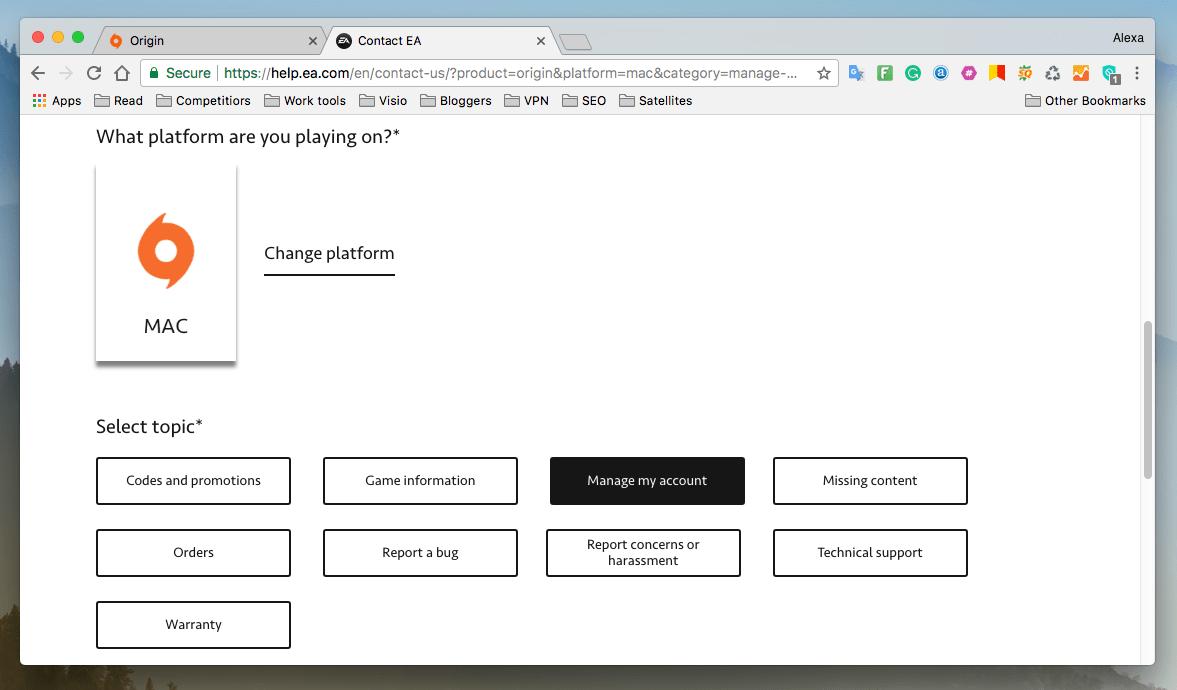 Uninstall Origin Client on Your Mac