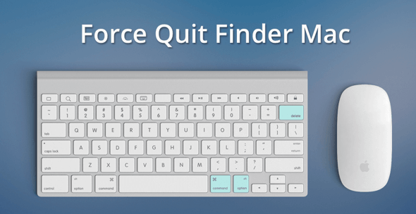Force Quite Finder on Mac