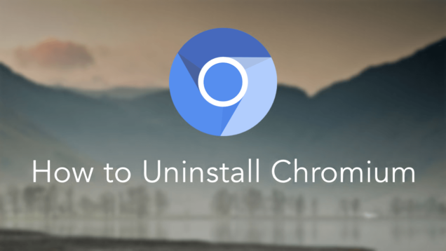 how to remove chromium