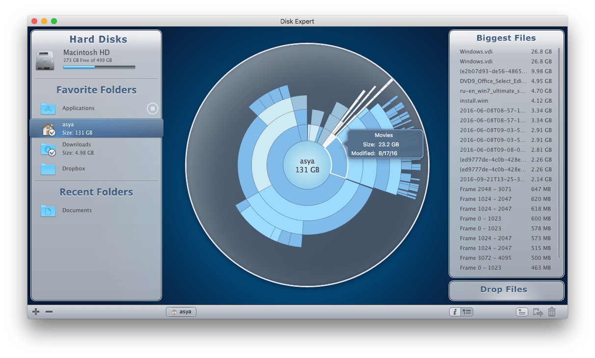 clear disk space