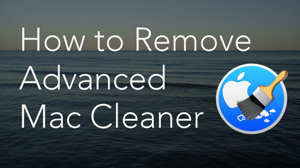 advanced mac cleaner popup