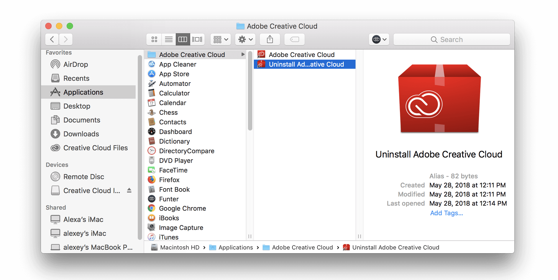 adobe products for mac