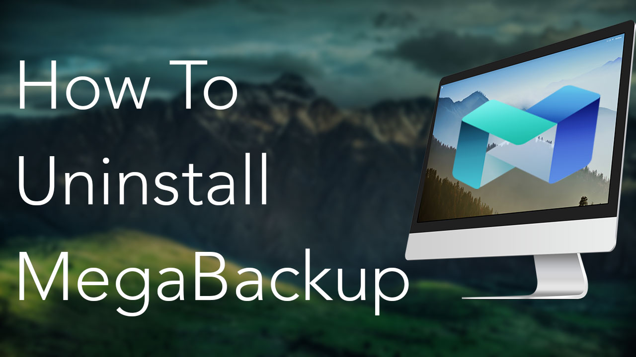 how to delete megabackup