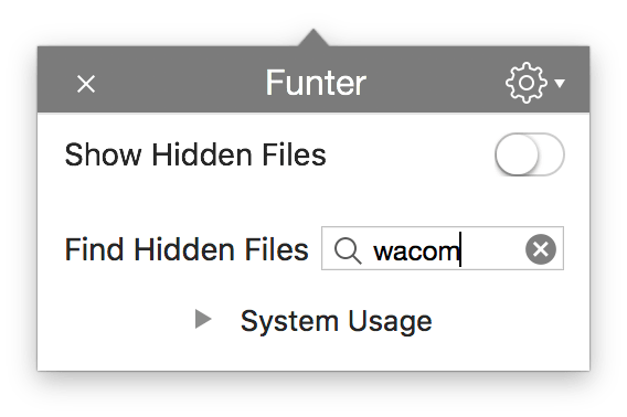 how to delete Wacom drivers on Mac