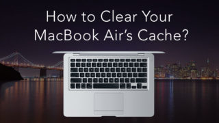 how to clear cache on macbook