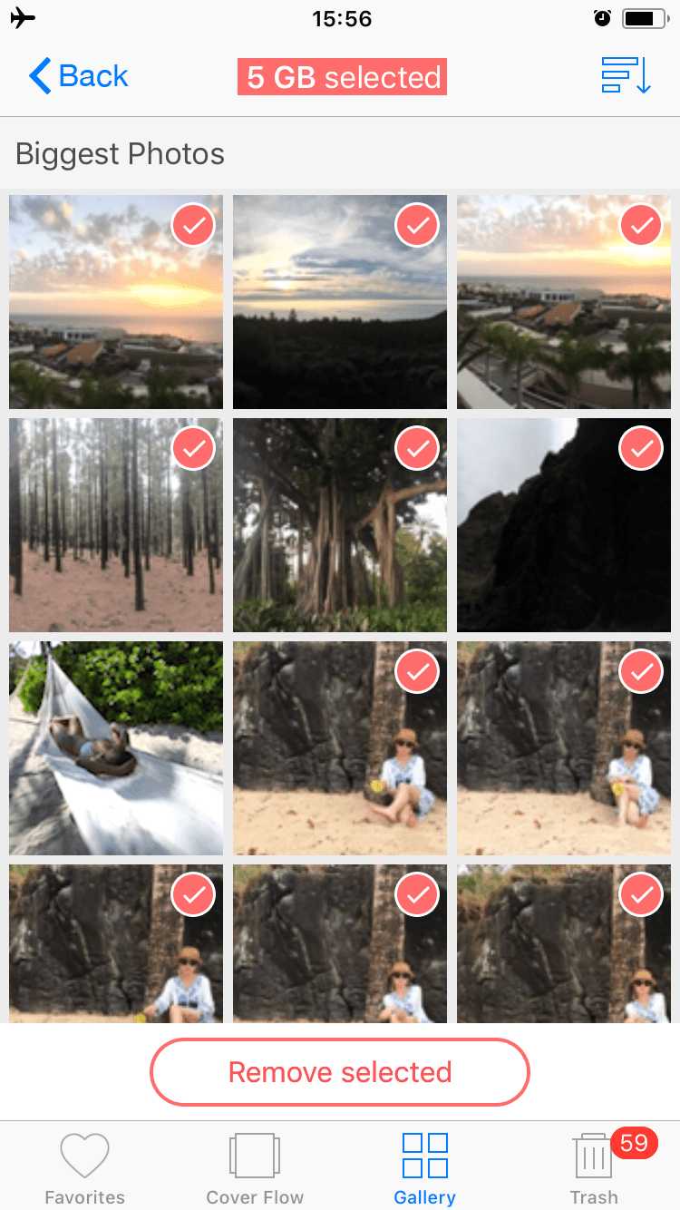 how to see icloud photos on iphone 7