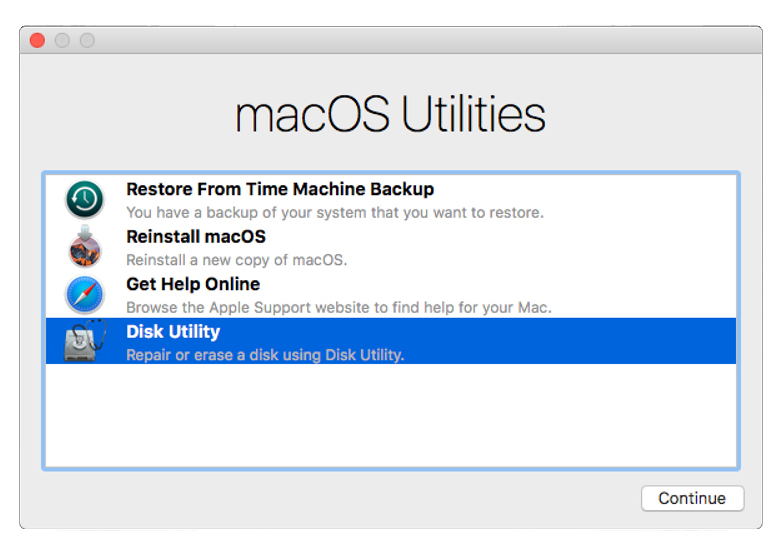 How to Reset a Mac to a Factory State