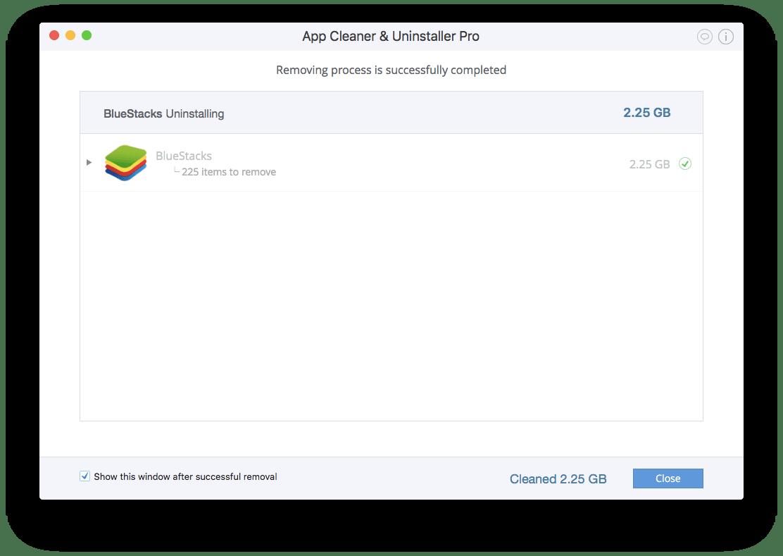 Uninstall BlueStacks on Your Mac