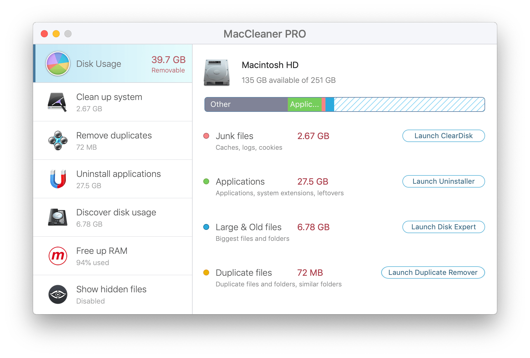 Clear Disk Space Mac >> MacCleaner Pro - Bundle of 6 Cleanup Apps | Nektony Blog