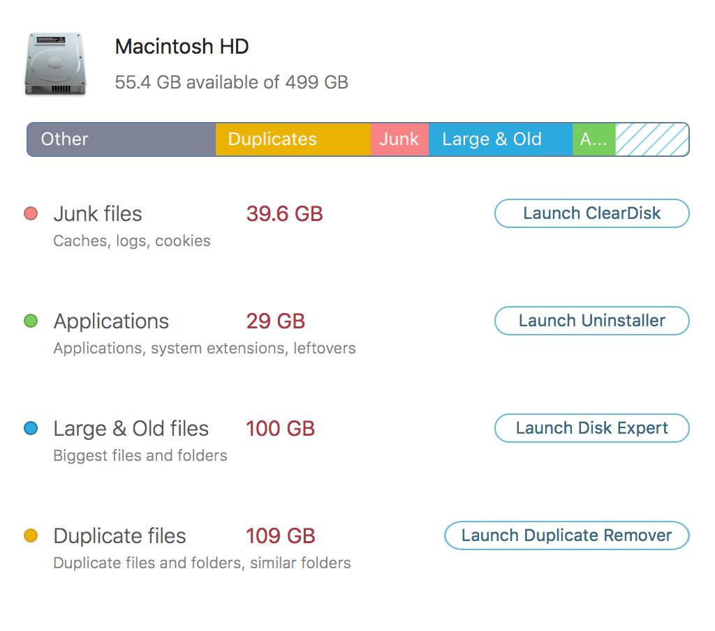 MacCleaner PRO Mac 破解版 Mac系统综合清理工具包-麦氪搜(iMacso.com)
