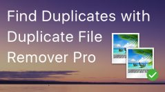 Duplicate File Remover Pro - How to Set Up the Minimal File Size