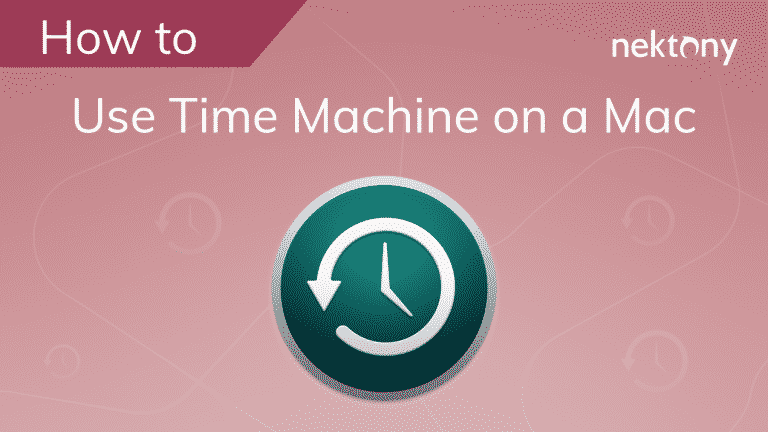 How to Use Time Machine on a Mac
