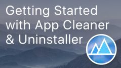 get started with app cleaner