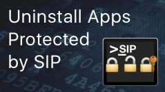 apps protected by SIP