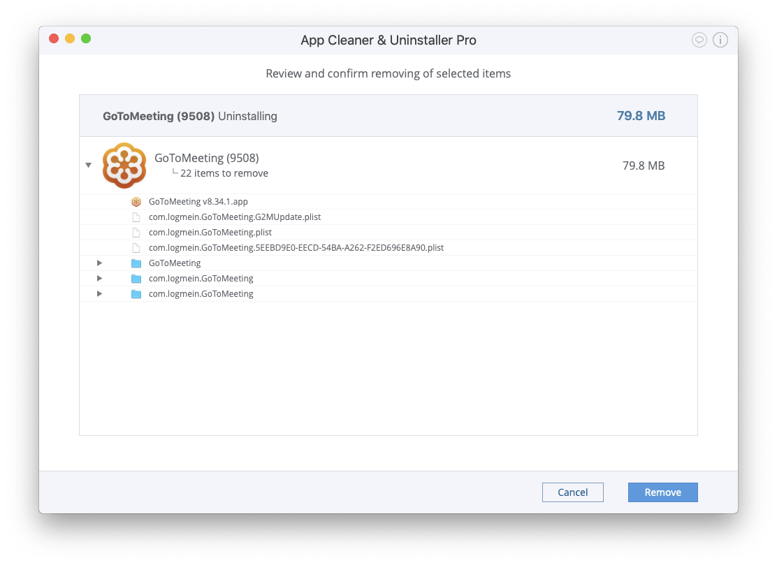How to uninstall GoToMeeting on a Mac - Removal Guide