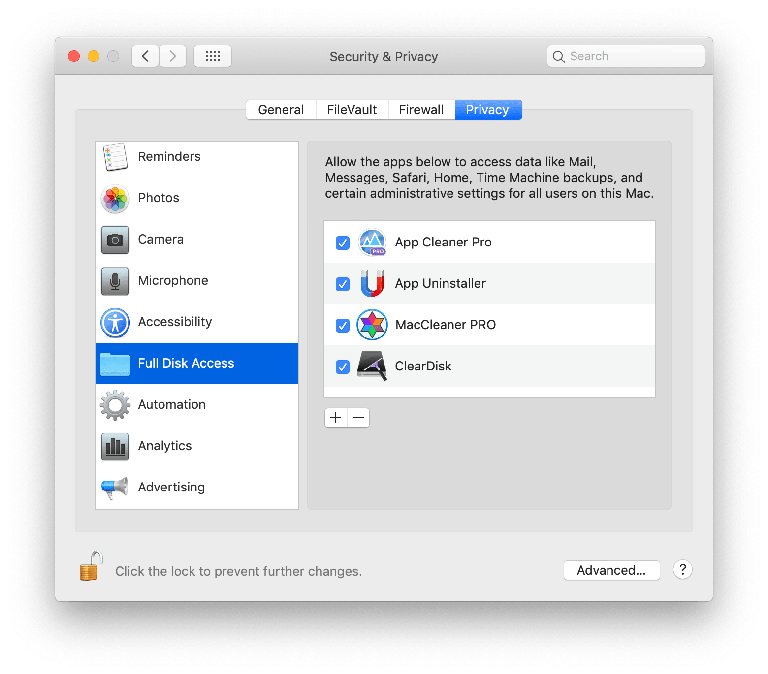 How to Remove Protected Apps