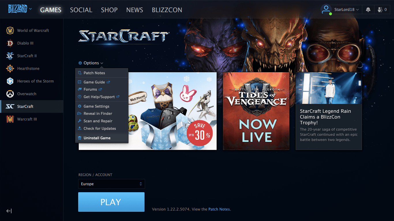 How To Uninstall Starcraft On A Mac Removal Guide