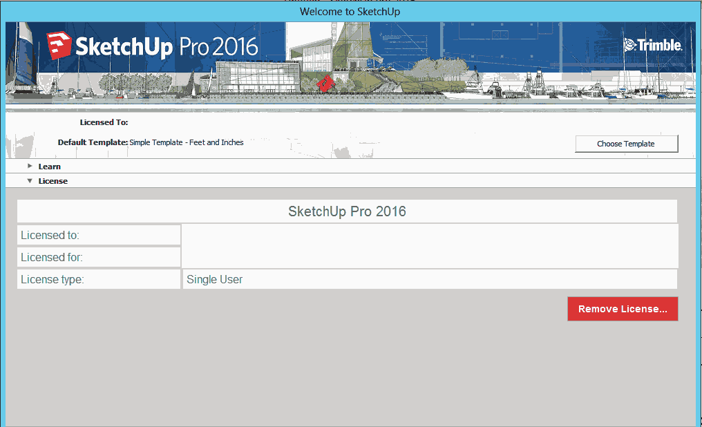 uninstall sketchup