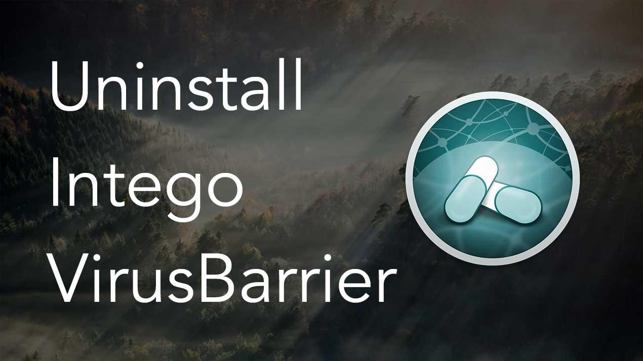 virusbarrier app uninstall