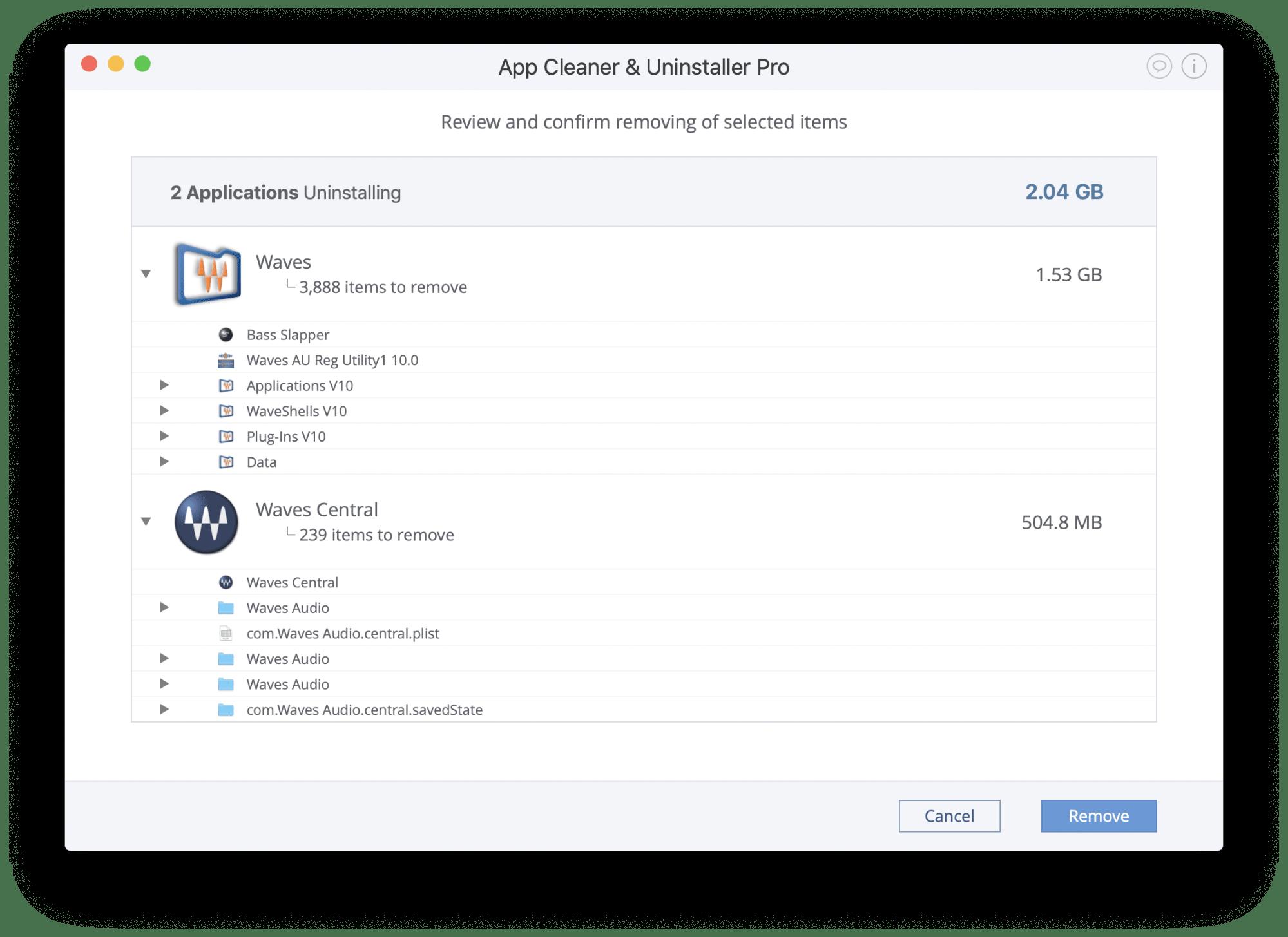 How to Uninstall Waves Plugins on a Mac - Three Ways