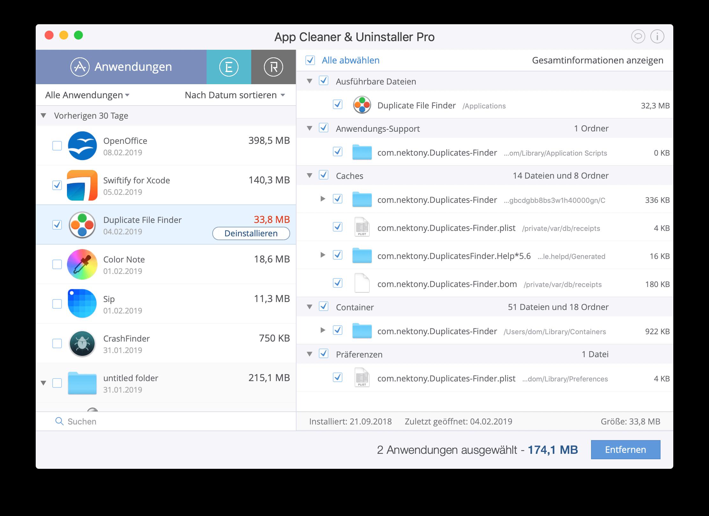 programme deinstallieren auf mac