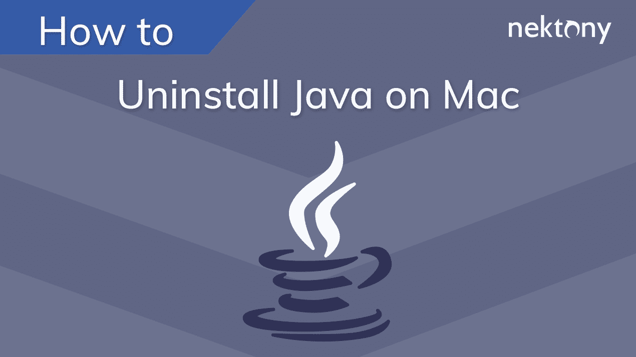 How to uninstall Java on Mac