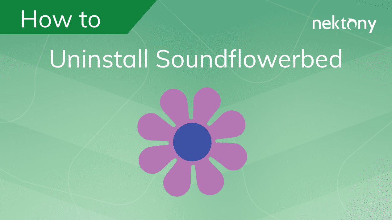 How to uninstall SoundflowerBed from Mac