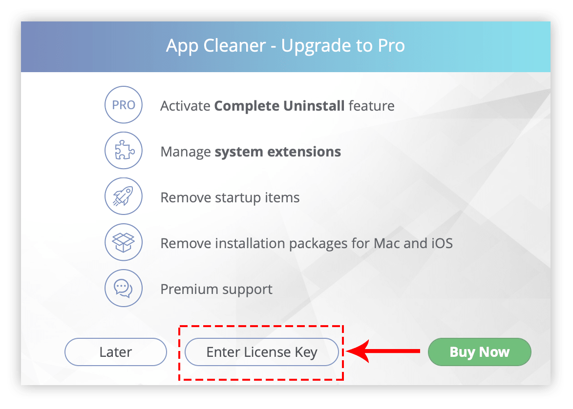 mac cleaner pro license key