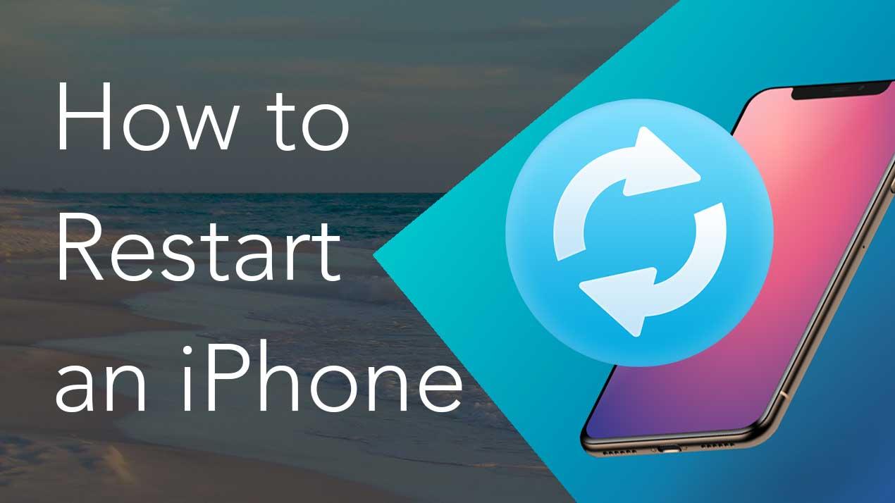restart iphone