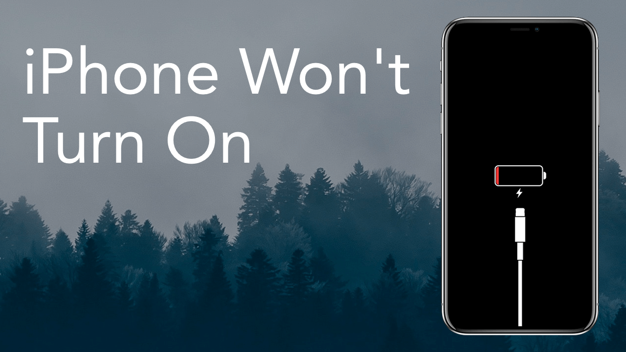 Why your iPhone won't Turn on