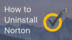 Uninstall Norton Security on Mac
