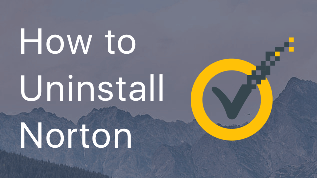 Uninstall Norton Security on Mac